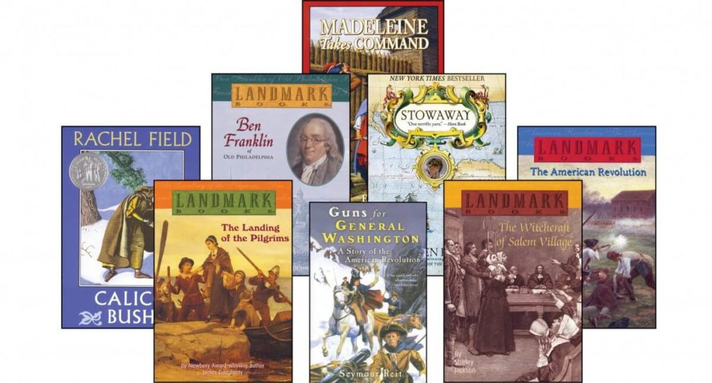 5th grade supplemental american history novels