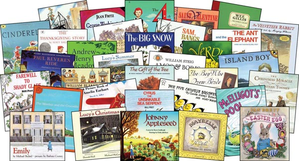 Classical curriculum great books read-a-louds second grade