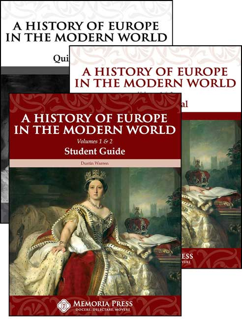 homeschool curriculum A History of Europe in the modern world