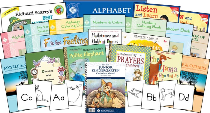 Classical junior kindergarten preschool homeschool curriculum