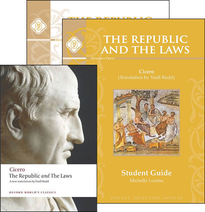 the republic and the laws by cicero for homeschool students