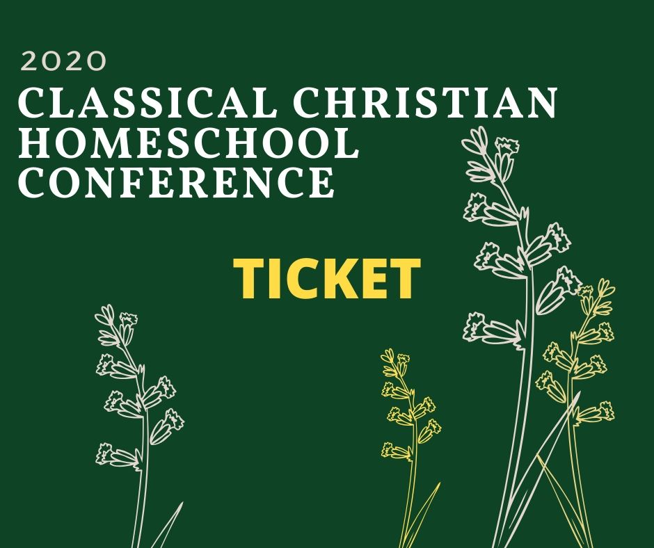 Ticket for Arizona Classical Christian homeschool conference