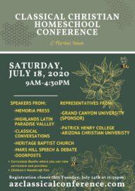 arizona classical curriculum conference